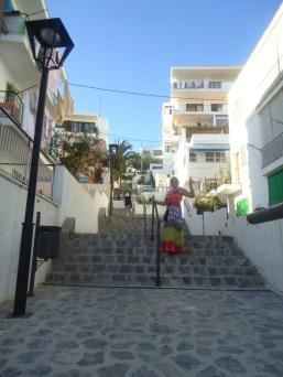 A caminho de Ibiza Town