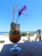 Drinks no bar do hotel